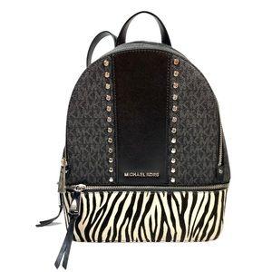 NEW Michael Kors Signature Rhea Studded Backpack